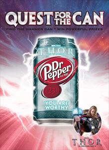 Dr Pepper and Need for Speed Shift 2