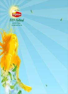 Lipton 100% Natural Iced Tea Themes and Pics